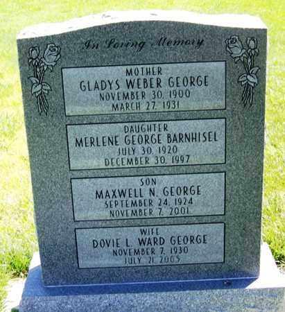 GEORGE BARNHISEL, MERLENE - Carbon County, Wyoming | MERLENE GEORGE BARNHISEL - Wyoming Gravestone Photos