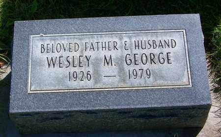 GEORGE, WESLEY - Carbon County, Wyoming | WESLEY GEORGE - Wyoming Gravestone Photos