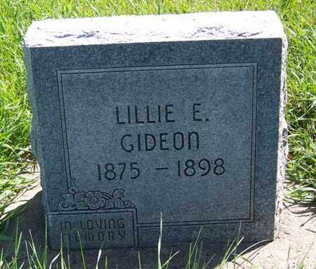 GIDEON, LILLIE E - Carbon County, Wyoming   LILLIE E GIDEON - Wyoming Gravestone Photos