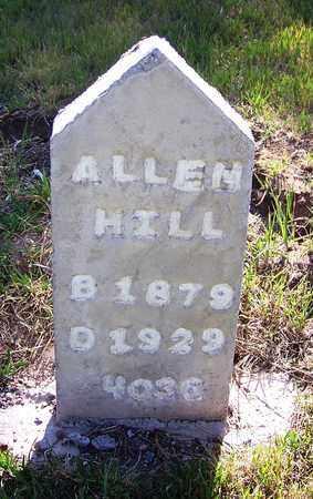 HILL, ALLEN - Carbon County, Wyoming | ALLEN HILL - Wyoming Gravestone Photos