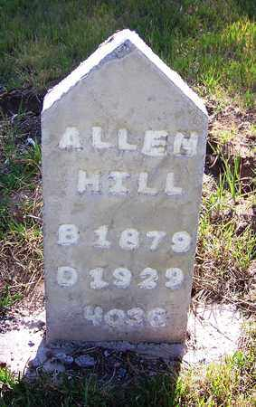 HILL, ALLEN - Carbon County, Wyoming | ALLEN HILL - Wyoming Gravestone Photos