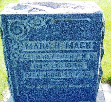 MACK, MARY R - Carbon County, Wyoming | MARY R MACK - Wyoming Gravestone Photos