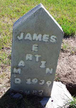 MARTIN, JAMES E - Carbon County, Wyoming | JAMES E MARTIN - Wyoming Gravestone Photos
