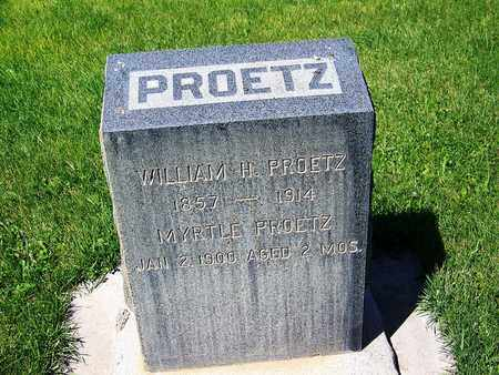 PROETZ, MYRTLE - Carbon County, Wyoming | MYRTLE PROETZ - Wyoming Gravestone Photos