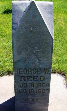 REED, GEORGE W - Carbon County, Wyoming | GEORGE W REED - Wyoming Gravestone Photos