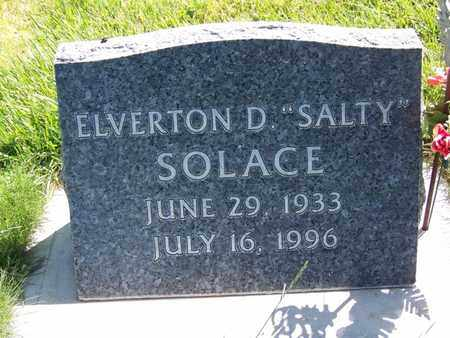 "SOLACE, ELVERTON D ""SALTY"" - Carbon County, Wyoming 