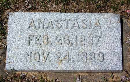SUN, ANASTASIA - Carbon County, Wyoming | ANASTASIA SUN - Wyoming Gravestone Photos