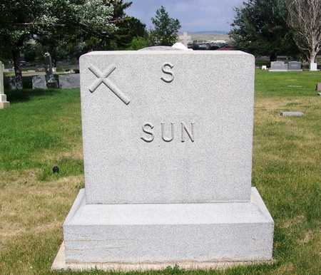 SUN FAMILY STONE,  - Carbon County, Wyoming |  SUN FAMILY STONE - Wyoming Gravestone Photos
