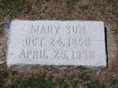 SUN, MARY - Carbon County, Wyoming | MARY SUN - Wyoming Gravestone Photos