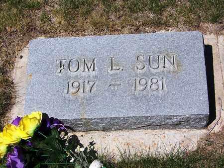 SUN, TOM L - Carbon County, Wyoming | TOM L SUN - Wyoming Gravestone Photos