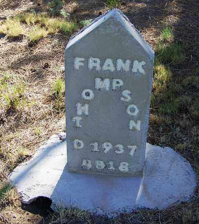 THOMPSON, FRANK - Carbon County, Wyoming | FRANK THOMPSON - Wyoming Gravestone Photos