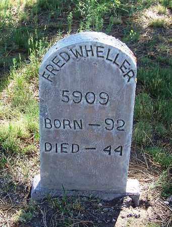 WHEELER, FRED - Carbon County, Wyoming | FRED WHEELER - Wyoming Gravestone Photos
