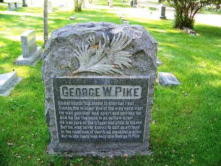 PIKE, GEORGE  W - Converse County, Wyoming | GEORGE  W PIKE - Wyoming Gravestone Photos