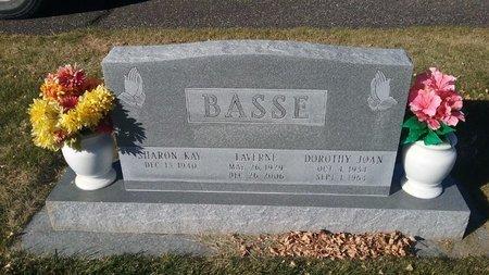 BASSE, SHARON - Hot Springs County, Wyoming   SHARON BASSE - Wyoming Gravestone Photos