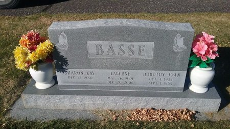 BASSE, SHARON - Hot Springs County, Wyoming | SHARON BASSE - Wyoming Gravestone Photos