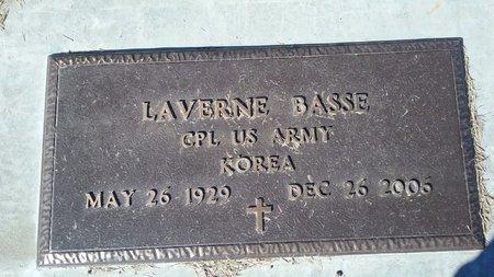 BASSE, LAVERNE - Hot Springs County, Wyoming | LAVERNE BASSE - Wyoming Gravestone Photos