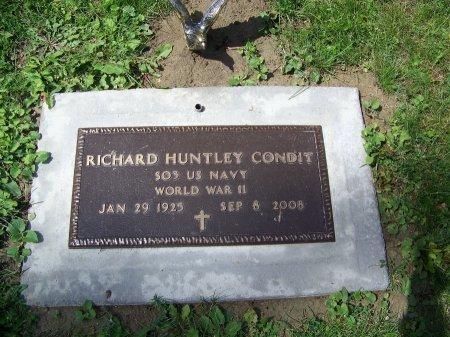 CONDIT (VETERAN WWII), RICHARD HUNTLEY - Johnson County, Wyoming | RICHARD HUNTLEY CONDIT (VETERAN WWII) - Wyoming Gravestone Photos