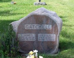 GATCHELL, URSULLA J. - Johnson County, Wyoming | URSULLA J. GATCHELL - Wyoming Gravestone Photos