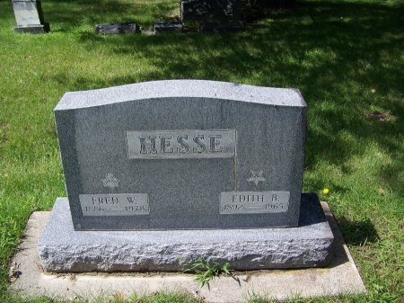 HESSE, FRED W. - Johnson County, Wyoming | FRED W. HESSE - Wyoming Gravestone Photos