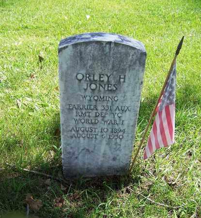 JONES (VETERAN WWI), ORLEY H - Johnson County, Wyoming | ORLEY H JONES (VETERAN WWI) - Wyoming Gravestone Photos