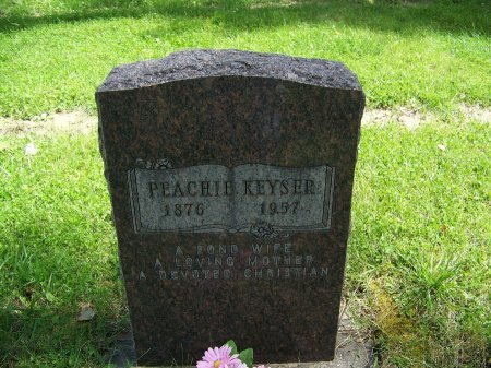 KEYSER, PEACHIE - Johnson County, Wyoming | PEACHIE KEYSER - Wyoming Gravestone Photos