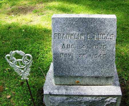 LUCAS, FRANKLIN EARL (FAMOUS) - Johnson County, Wyoming | FRANKLIN EARL (FAMOUS) LUCAS - Wyoming Gravestone Photos