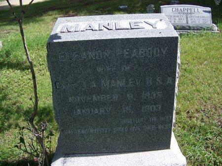 PEABODY MANLEY, ELEANOR - Johnson County, Wyoming | ELEANOR PEABODY MANLEY - Wyoming Gravestone Photos