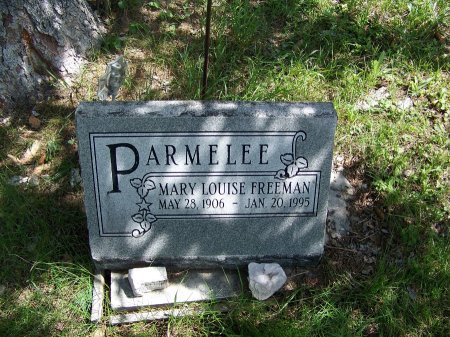 PARMELEE, MARY LOUISE - Johnson County, Wyoming | MARY LOUISE PARMELEE - Wyoming Gravestone Photos