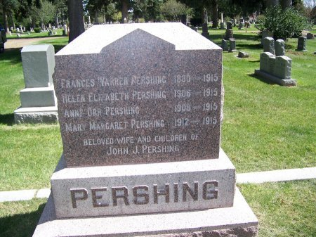 PERSHING, FRANCES - Johnson County, Wyoming | FRANCES PERSHING - Wyoming Gravestone Photos