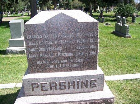 WARREN PERSHING, FRANCES - Johnson County, Wyoming   FRANCES WARREN PERSHING - Wyoming Gravestone Photos