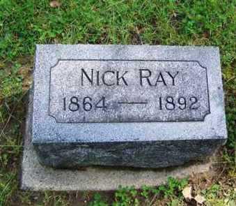 RAY, NICK - Johnson County, Wyoming | NICK RAY - Wyoming Gravestone Photos