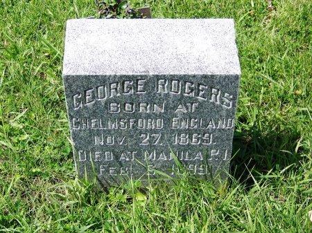 ROGERS (VETERAN SPAM), GEORGE - Johnson County, Wyoming   GEORGE ROGERS (VETERAN SPAM) - Wyoming Gravestone Photos