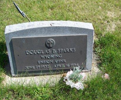 SPARKS, DOUGLAS B - Johnson County, Wyoming   DOUGLAS B SPARKS - Wyoming Gravestone Photos
