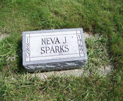 SPARKS, NEVA J. - Johnson County, Wyoming | NEVA J. SPARKS - Wyoming Gravestone Photos