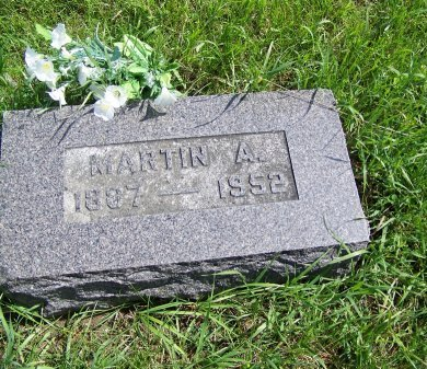 TISDALE, MARTIN A. - Johnson County, Wyoming | MARTIN A. TISDALE - Wyoming Gravestone Photos