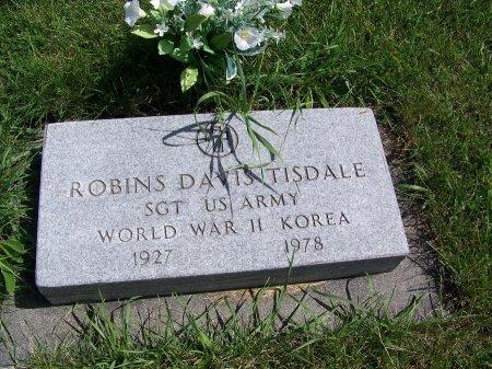 TISDALE (VETERAN 2 WARS), ROBINS DAVIS - Johnson County, Wyoming | ROBINS DAVIS TISDALE (VETERAN 2 WARS) - Wyoming Gravestone Photos