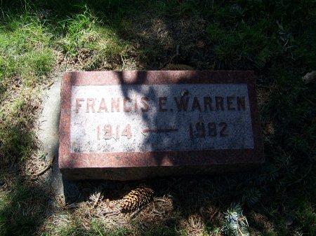 WARREN, FRANCIS E - Johnson County, Wyoming | FRANCIS E WARREN - Wyoming Gravestone Photos