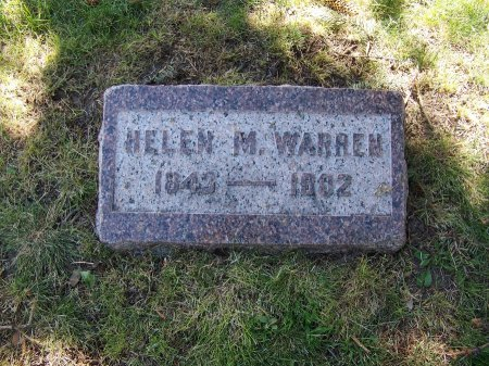 WARREN, HELEN M. - Johnson County, Wyoming | HELEN M. WARREN - Wyoming Gravestone Photos