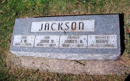 JACKSON, J W - Laramie County, Wyoming | J W JACKSON - Wyoming Gravestone Photos
