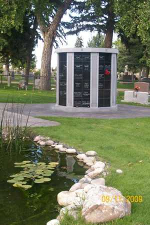 *OVERVIEW COLUMBARIUM,  - Laramie County, Wyoming |  *OVERVIEW COLUMBARIUM - Wyoming Gravestone Photos