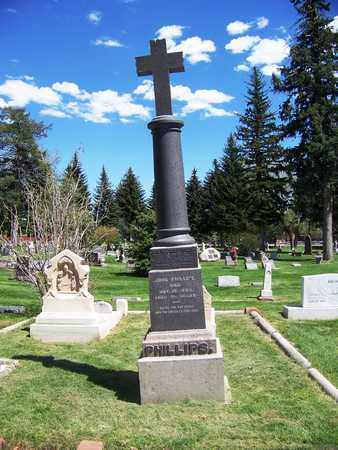 "PHILIPS, JOHN ""PORTUGEE"" (FAMOUS) - Laramie County, Wyoming 