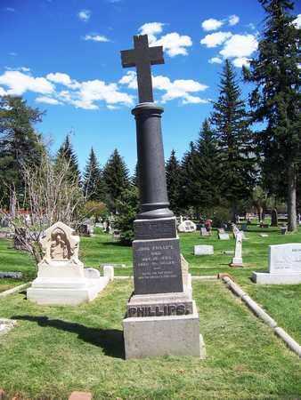 "PHILIPS, JOHN ""PORTUGEE"" (FAMOUS) - Laramie County, Wyoming | JOHN ""PORTUGEE"" (FAMOUS) PHILIPS - Wyoming Gravestone Photos"