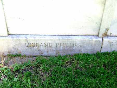 "PHILLIPS, LEE GRAND ""LE-GRAND"" - Laramie County, Wyoming 