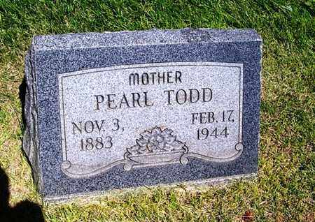 TODD, PEARL - Laramie County, Wyoming | PEARL TODD - Wyoming Gravestone Photos