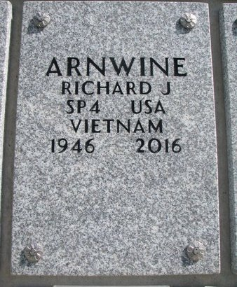 ARNWINE, RICHARD J. - Natrona County, Wyoming | RICHARD J. ARNWINE - Wyoming Gravestone Photos