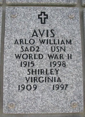 AVIS, ARLO WILLIAM - Natrona County, Wyoming | ARLO WILLIAM AVIS - Wyoming Gravestone Photos