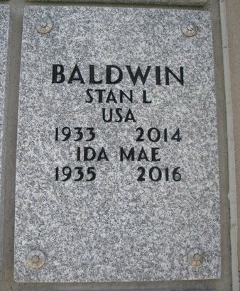 BALDWIN, IDA MAE - Natrona County, Wyoming | IDA MAE BALDWIN - Wyoming Gravestone Photos