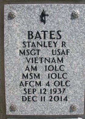 BATES, STANLEY R. - Natrona County, Wyoming | STANLEY R. BATES - Wyoming Gravestone Photos