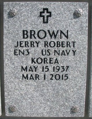 BROWN, JERRY ROBERT - Natrona County, Wyoming | JERRY ROBERT BROWN - Wyoming Gravestone Photos