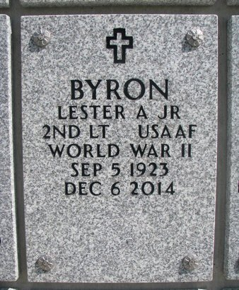 BYRON, LESTER A. JR. - Natrona County, Wyoming   LESTER A. JR. BYRON - Wyoming Gravestone Photos